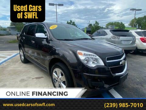 2015 Chevrolet Equinox for sale at Used Cars of SWFL in Fort Myers FL