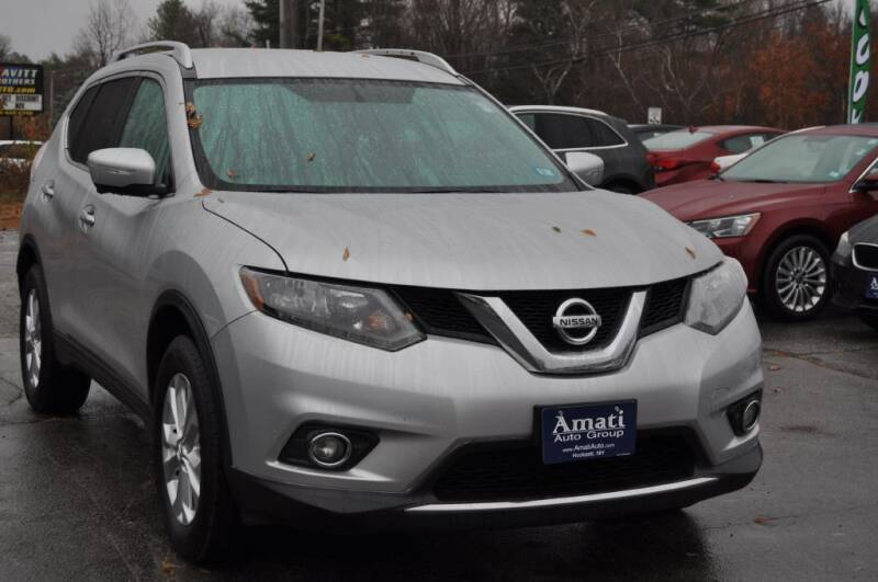 2015 Nissan Rogue for sale at Amati Auto Group in Hooksett NH