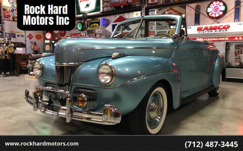 1941 Ford Super Deluxe for sale at Rock Hard Motors Inc in Treynor IA