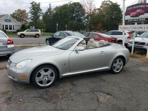 2005 Lexus SC 430 for sale at Plum Auto Works Inc in Newburyport MA
