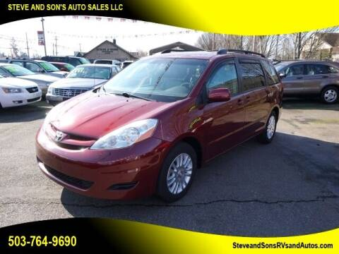 2008 Toyota Sienna for sale at Steve & Sons Auto Sales in Happy Valley OR