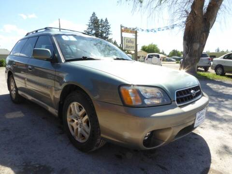 2003 Subaru Outback for sale at VALLEY MOTORS in Kalispell MT
