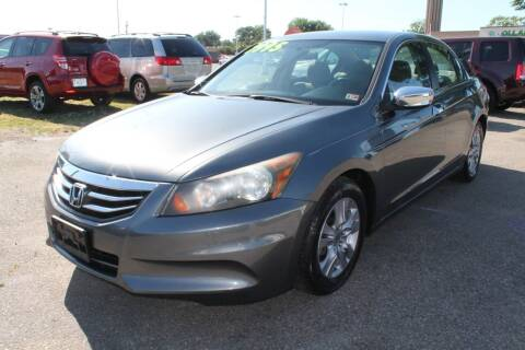 2012 Honda Accord for sale at Drive Now Auto Sales in Norfolk VA