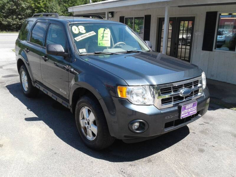 2008 Ford Escape for sale at Quest Auto Outlet in Chichester NH