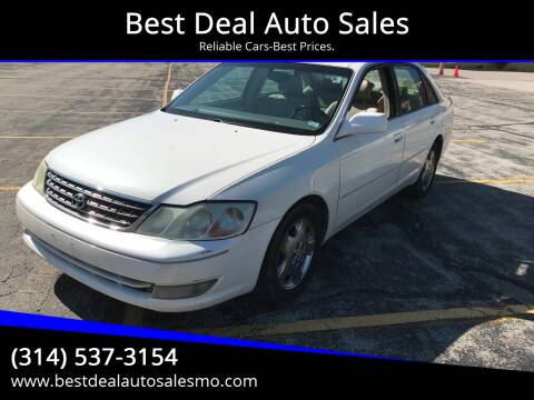 2004 Toyota Avalon for sale at Best Deal Auto Sales in Saint Charles MO