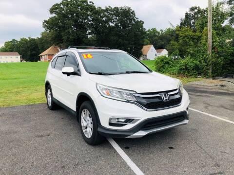 2016 Honda CR-V for sale at 4Auto Sales, Inc. in Fredericksburg VA