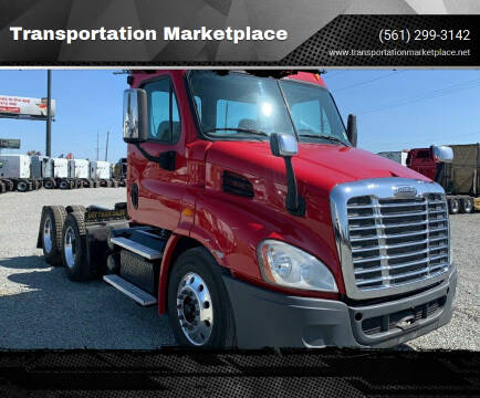 2013 Freightliner Cascadia 125 DD15 for sale at Transportation Marketplace in West Palm Beach FL