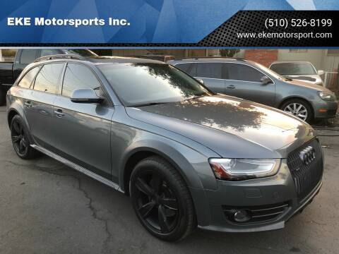 2016 Audi Allroad for sale at EKE Motorsports Inc. in El Cerrito CA