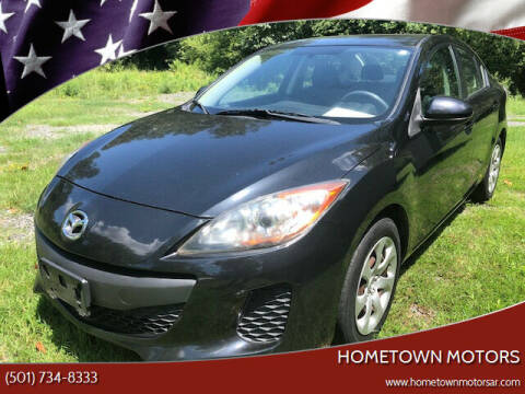 2012 Mazda MAZDA3 for sale at Hometown Motors in Maumelle AR