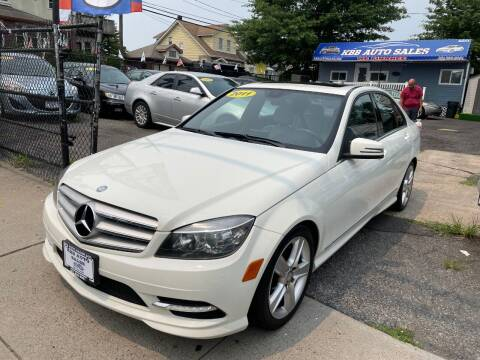 2011 Mercedes-Benz C-Class for sale at KBB Auto Sales in North Bergen NJ