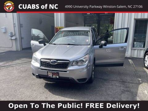 2015 Subaru Forester for sale at Summit Credit Union Auto Buying Service in Winston Salem NC