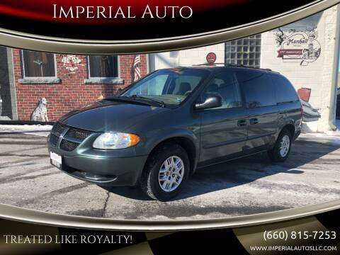 2002 Dodge Grand Caravan for sale at Imperial Auto, LLC in Marshall MO