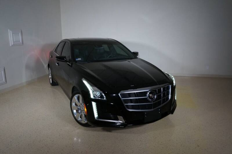 2014 Cadillac CTS for sale at TopGear Motorcars in Grand Prairie TX