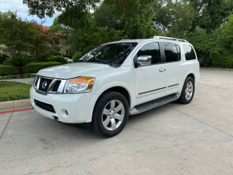 2014 Nissan Armada for sale at Motorcars Group Management - Bud Johnson Motor Co in San Antonio TX