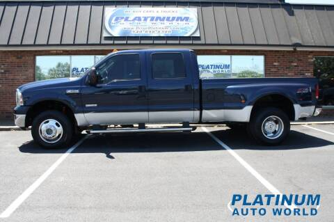 2006 Ford F-350 Super Duty for sale at Platinum Auto World in Fredericksburg VA