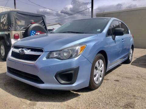 2012 Subaru Impreza for sale at Top Gun Auto Sales, LLC in Albuquerque NM