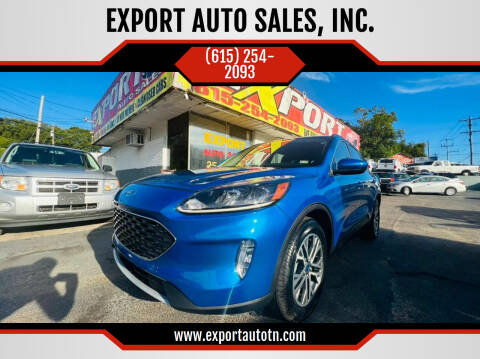 2020 Ford Escape for sale at EXPORT AUTO SALES, INC. in Nashville TN