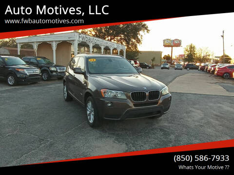 2013 BMW X3 for sale at Auto Motives, LLC in Fort Walton Beach FL