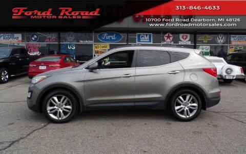 2013 Hyundai Santa Fe Sport for sale at Ford Road Motor Sales in Dearborn MI