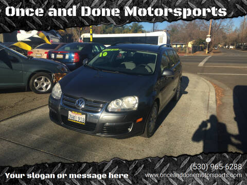 2009 Volkswagen Jetta for sale at Once and Done Motorsports in Chico CA