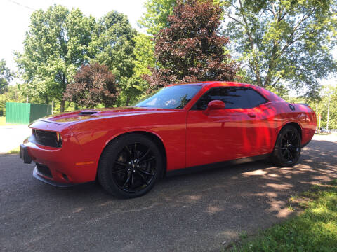 2017 Dodge Challenger for sale at Jim's Hometown Auto Sales LLC in Byesville OH