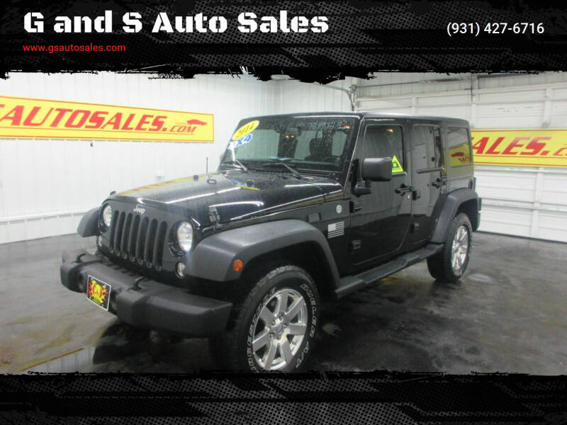 2014 Jeep Wrangler Unlimited for sale at G and S Auto Sales in Ardmore TN