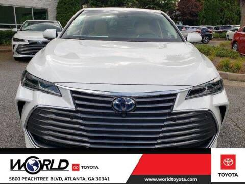 2020 Toyota Avalon Hybrid for sale at CU Carfinders in Norcross GA