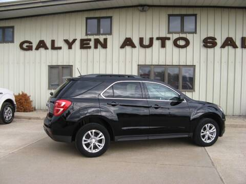 2017 Chevrolet Equinox for sale at Galyen Auto Sales Inc. in Atkinson NE