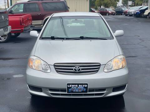 2004 Toyota Corolla for sale at Lewis Blvd Auto Sales in Sioux City IA