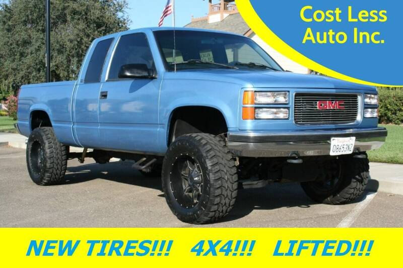 1997 GMC Sierra 1500 for sale at Cost Less Auto Inc. in Rocklin CA