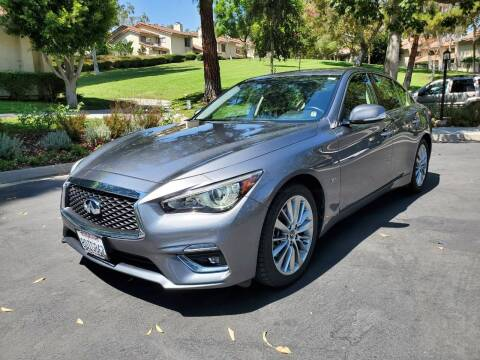 2018 Infiniti Q50 for sale at E MOTORCARS in Fullerton CA