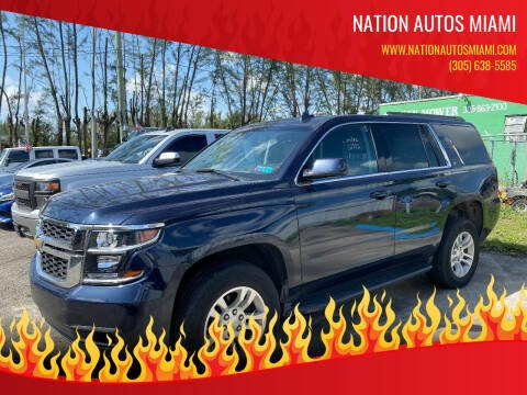 2020 Chevrolet Tahoe for sale at Nation Autos Miami in Hialeah FL