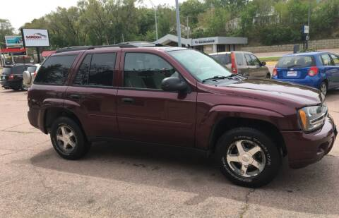 2006 Chevrolet TrailBlazer for sale at Gordon Auto Sales LLC in Sioux City IA