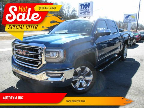 2018 GMC Sierra 1500 for sale at AUTOTYM INC in Fredericksburg VA