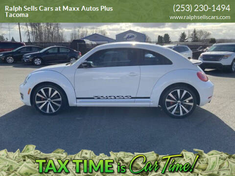 2012 Volkswagen Beetle for sale at Ralph Sells Cars at Maxx Autos Plus Tacoma in Tacoma WA