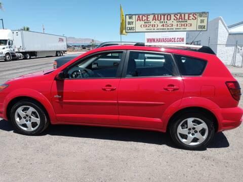 2004 Pontiac Vibe for sale at ACE AUTO SALES in Lake Havasu City AZ