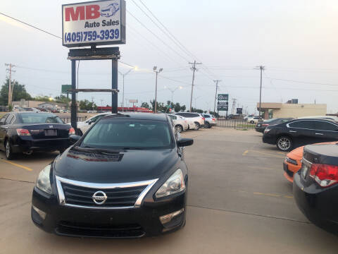 2013 Nissan Altima for sale at MB Auto Sales in Oklahoma City OK