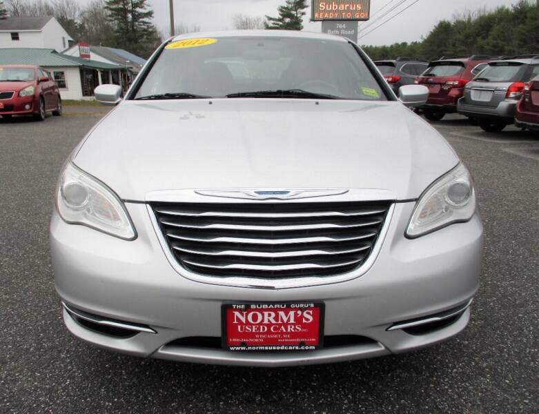 2012 Chrysler 200 for sale at Norm's Used Cars INC. in Wiscasset ME