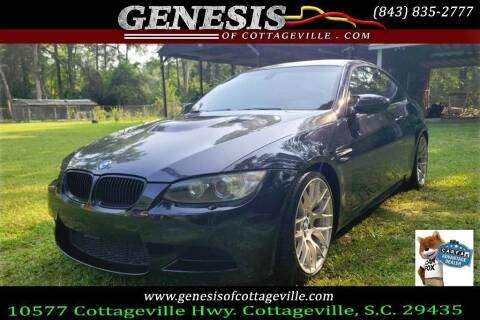 2011 BMW M3 for sale at Genesis Of Cottageville in Cottageville SC