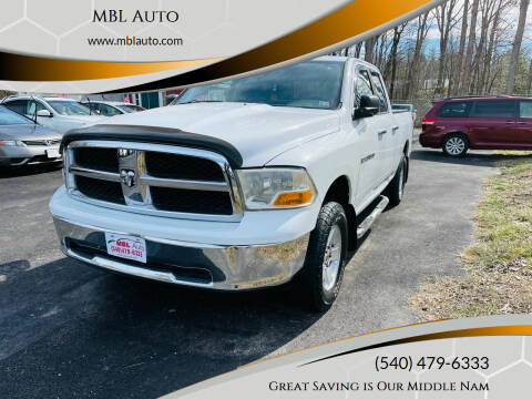 2011 RAM Ram Pickup 1500 for sale at MBL Auto Woodford in Woodford VA