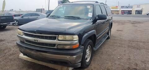 2001 Chevrolet Suburban for sale at BAC Motors in Weslaco TX