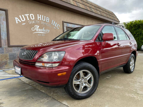 1999 Lexus RX 300 for sale at Auto Hub, Inc. in Anaheim CA