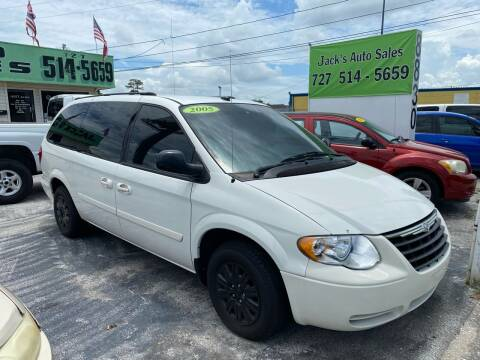 2005 Chrysler Town and Country for sale at Jack's Auto Sales in Port Richey FL