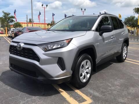 2020 Toyota RAV4 for sale at LKG Auto Sales Inc in Miami FL