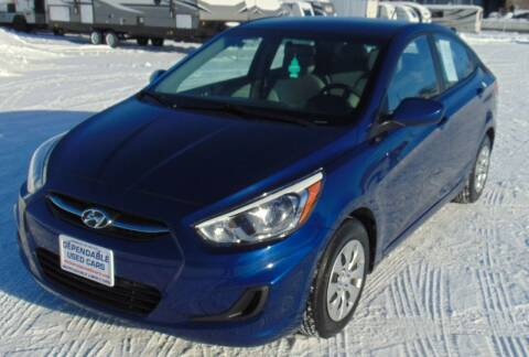 2017 Hyundai Accent for sale at Dependable Used Cars in Anchorage AK