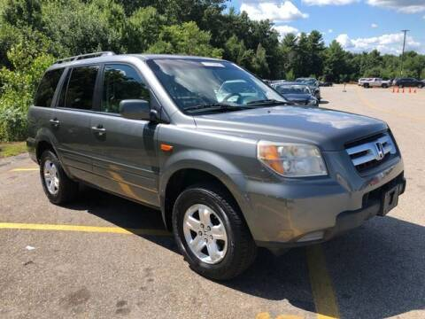 2008 Honda Pilot for sale at Plymouthe Motors in Leominster MA