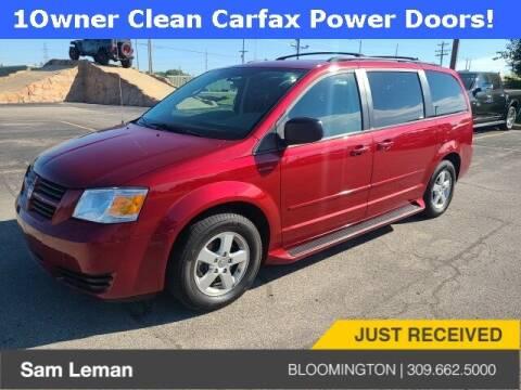 2010 Dodge Grand Caravan for sale at Sam Leman Mazda in Bloomington IL
