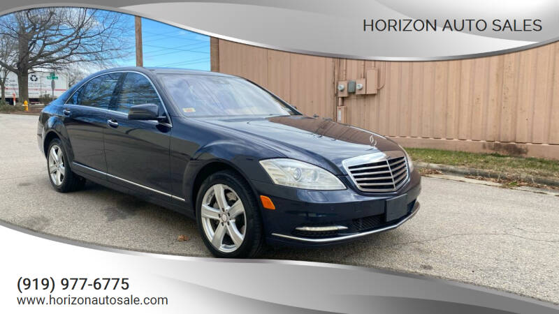 2013 Mercedes-Benz S-Class for sale at Horizon Auto Sales in Raleigh NC