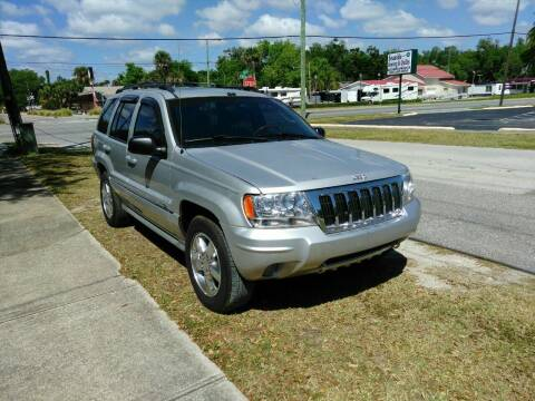 2004 Jeep Grand Cherokee for sale at D & D Detail Experts / Cars R Us in New Smyrna Beach FL