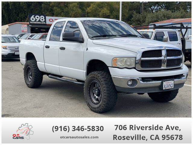 2004 Dodge Ram Pickup 2500 for sale at OT CARS AUTO SALES in Roseville CA